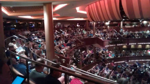 Concert on board the Celebrity Constellation Cruise