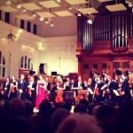 RCM Symphony Orchestra concierto solista