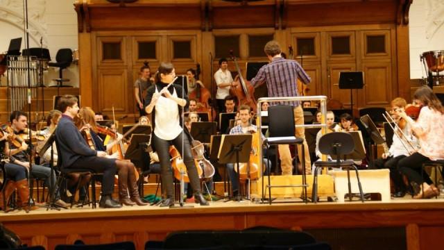 RCM Symphony Orchestra ensayo